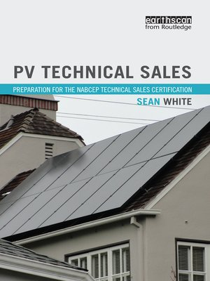 cover image of PV Technical Sales