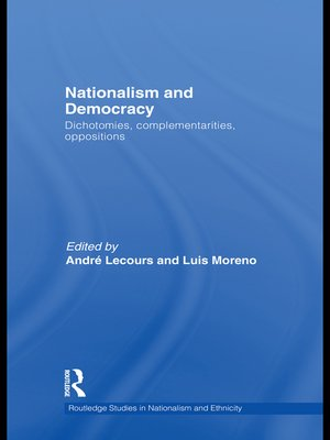 cover image of Nationalism and Democracy