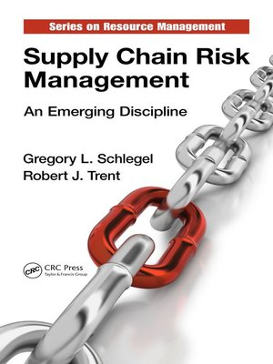 cover image of Supply Chain Risk Management