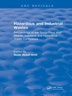 cover image of Hazardous and Industrial Wastes