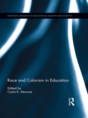 cover image of Race and Colorism in Education