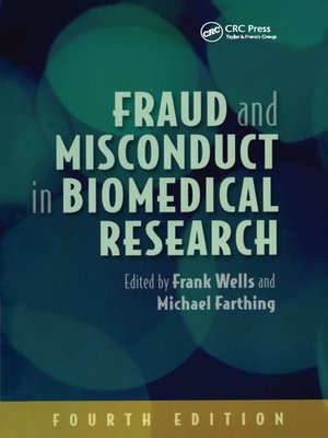 cover image of Fraud and Misconduct in Biomedical Research