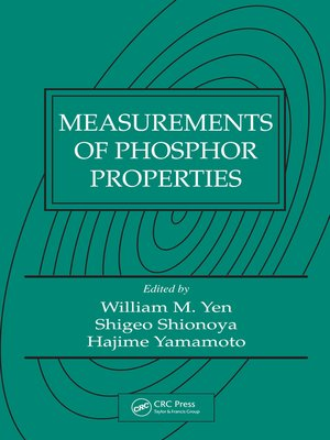 cover image of Measurements of Phosphor Properties