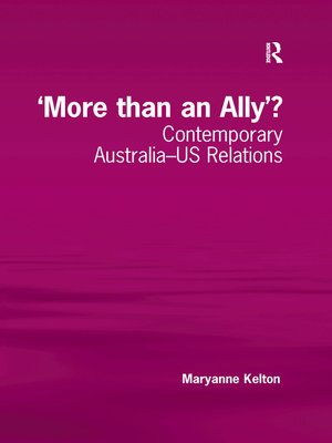 cover image of 'More than an Ally'?