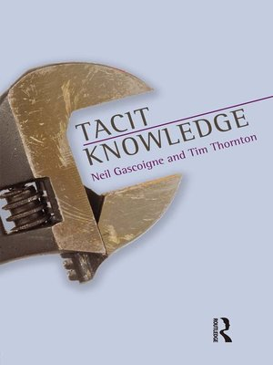 cover image of Tacit Knowledge