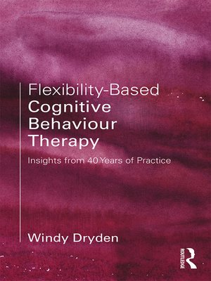 cover image of Flexibility-Based Cognitive Behaviour Therapy