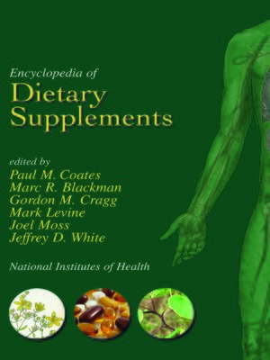 cover image of Encyclopedia of Dietary Supplements (Online)