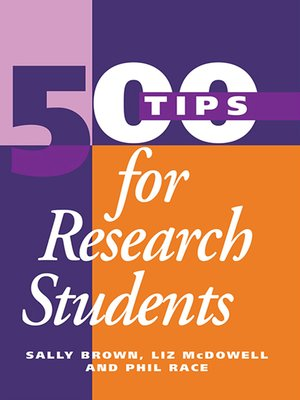 cover image of 500 Tips for Research Students
