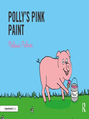 cover image of Polly's Pink Paint