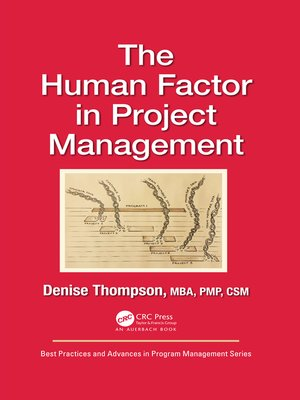 cover image of The Human Factor in Project Management