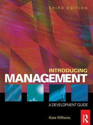 cover image of Introducing Management