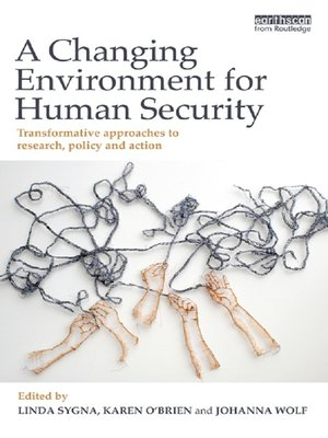 cover image of A Changing Environment for Human Security