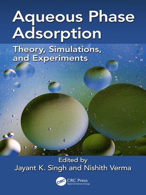 cover image of Aqueous Phase Adsorption