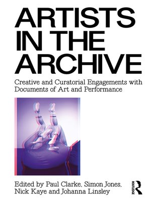 cover image of Artists in the Archive