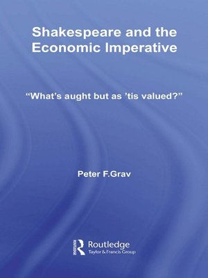 cover image of Shakespeare and the Economic Imperative