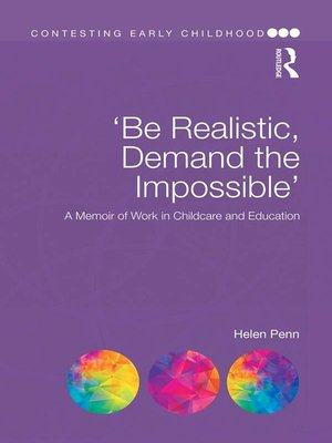 cover image of 'Be Realistic, Demand the Impossible'