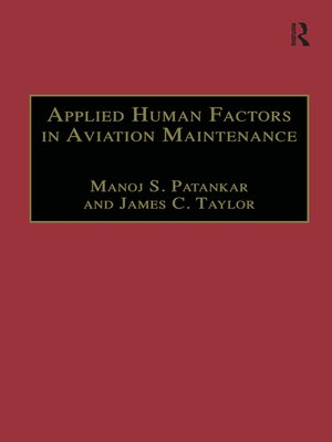 cover image of Applied Human Factors in Aviation Maintenance