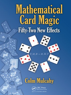 cover image of Mathematical Card Magic
