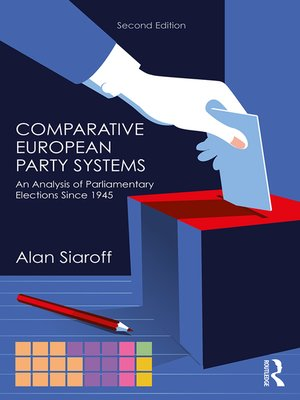 cover image of Comparative European Party Systems