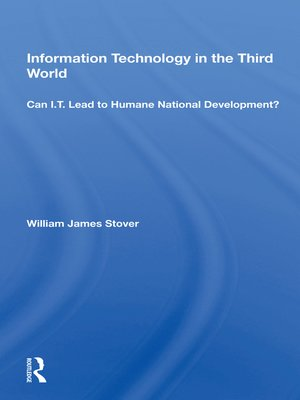 cover image of Information Technology In the Third World