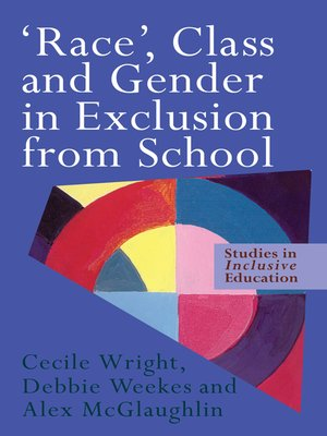 cover image of 'Race', Class and Gender in Exclusion From School