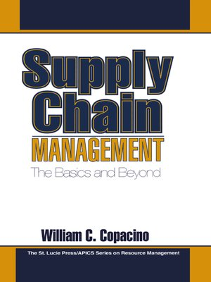cover image of Supply Chain Management