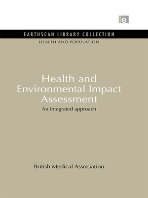cover image of Health and Environmental Impact Assessment