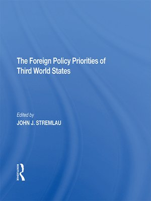 cover image of The Foreign Policy Priorities of Third World States