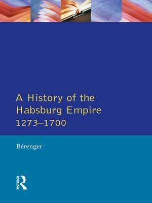cover image of A History of the Habsburg Empire 1273-1700