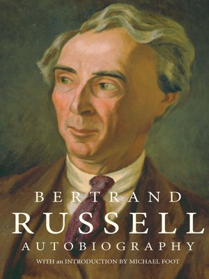 cover image of The Autobiography of Bertrand Russell