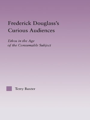 cover image of Frederick Douglass's Curious Audiences