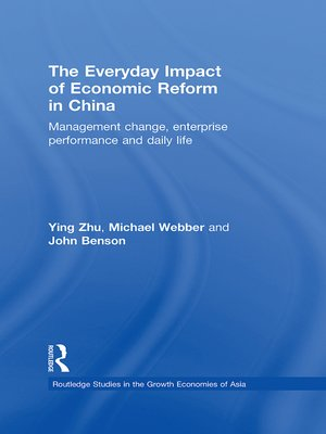 cover image of The Everyday Impact of Economic Reform in China