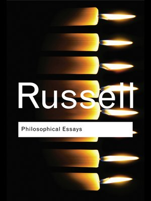 cover image of Philosophical Essays