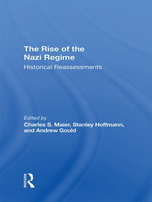 cover image of The Rise of the Nazi Regime