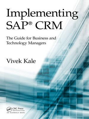 cover image of Implementing SAP CRM