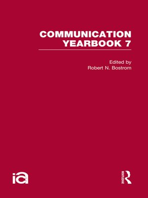 cover image of Communication Yearbook 7