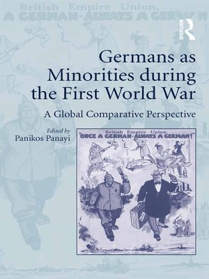 cover image of Germans as Minorities during the First World War