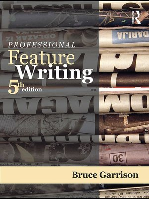 cover image of Professional Feature Writing
