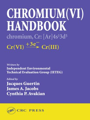 cover image of Chromium(VI) Handbook
