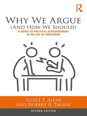 cover image of Why We Argue (And How We Should)