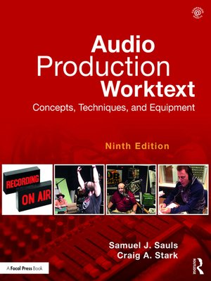 cover image of Audio Production Worktext
