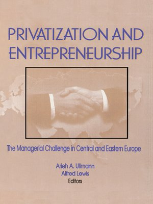 cover image of Privatization and Entrepreneurship