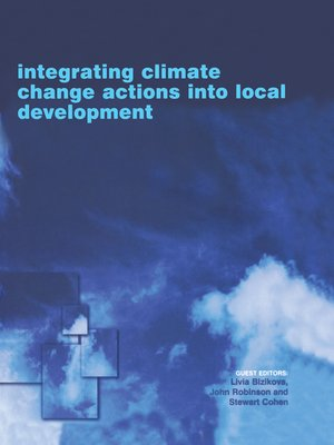 cover image of Integrating Climate Change Actions into Local Development