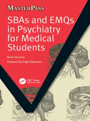 cover image of SBAs and EMQs in Psychiatry for Medical Students