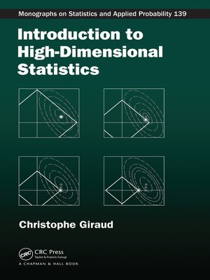 cover image of Introduction to High-Dimensional Statistics