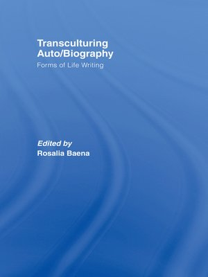 cover image of Transculturing Auto/Biography
