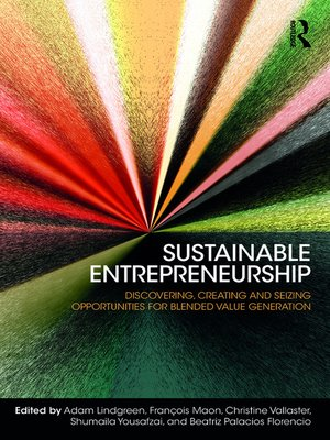 cover image of Sustainable Entrepreneurship
