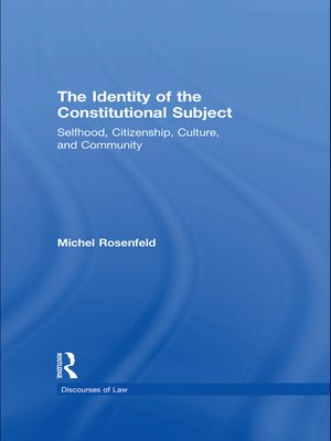 cover image of The Identity of the Constitutional Subject