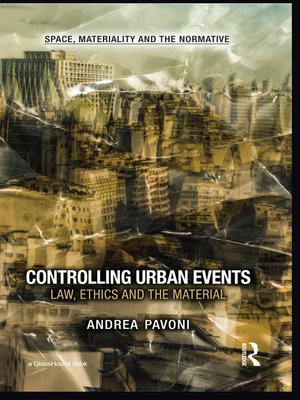 cover image of Controlling Urban Events