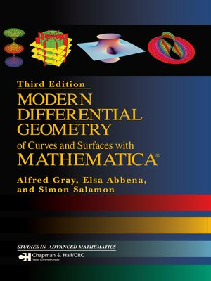cover image of Modern Differential Geometry of Curves and Surfaces with Mathematica